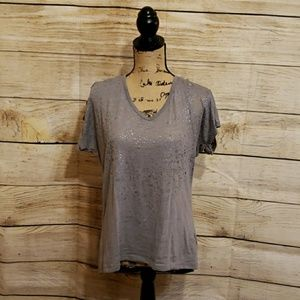 Maurices gray/silver shirt